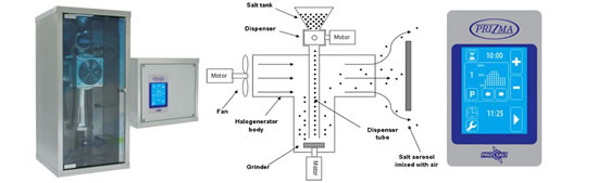 Halogenerator PrizSalt 550