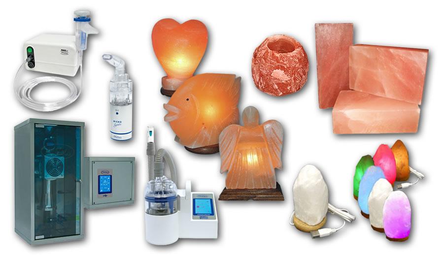 E-Trgovina izdelki za zdravje in sprostitev Solni tempelj