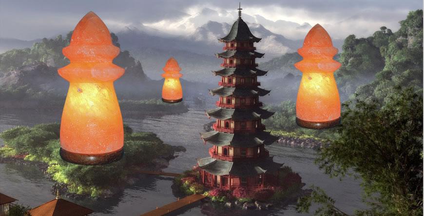 Pagoda Solna lučka meseca Januarja 2014