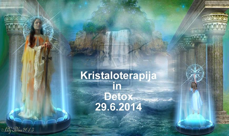 Kristaloterapija s Shano 29.6.2014