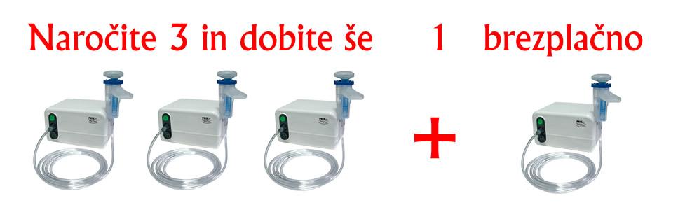 Inhalator Prizjet Naroči 3 in dobiš enega zastonj