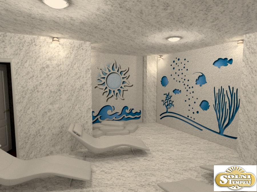 Dizajn solni sob Solni tempelj