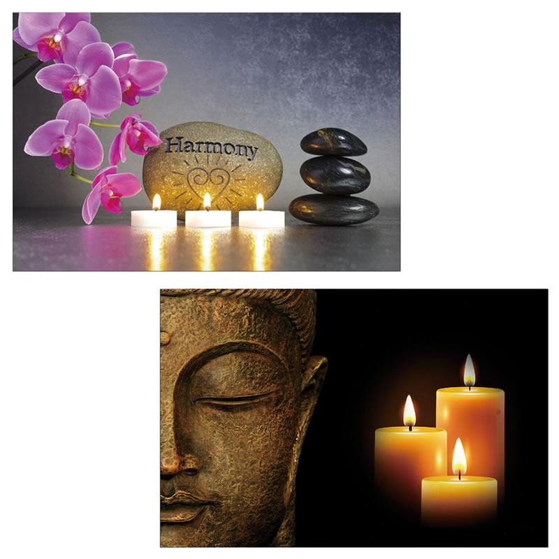 Dekorativa LED 2 Buda