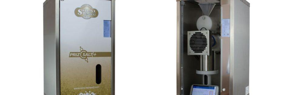 Naš profesionalec halogenerator Prizsalt+ v novem dizajnu – Solni tempelj