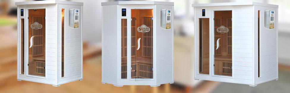 Solne infra kabine serije Home Deluxe prava izbira za kakovost vašega zdravja