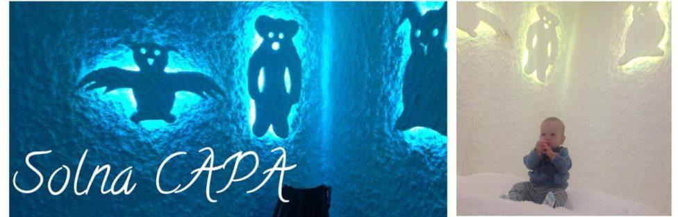 Solna soba Capa, vabljeni v Škofjo vas na solne terapije :-)