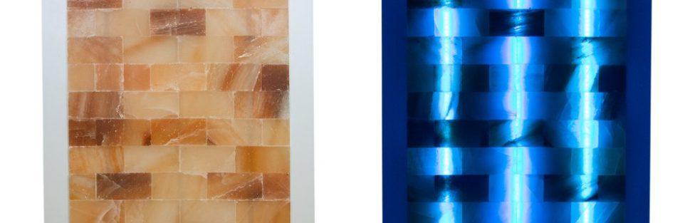 Novo ! Himalajski panel s solnimi zidaki Multi colors lights