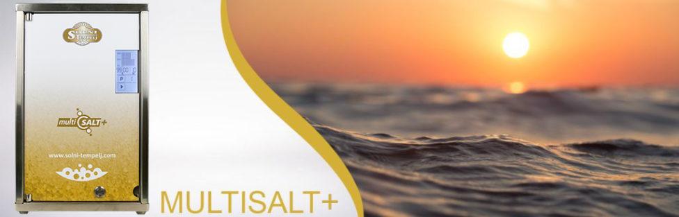 Halogenerator Multisalt+ , nova verzija, nov napredek